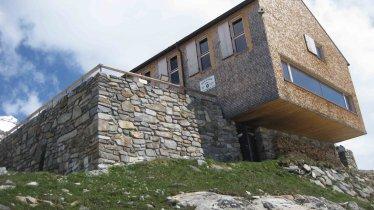 Il rifugio Olperer Hütte nella valle Zillertal, © DAV - Club alpino tedesco