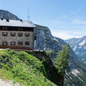 Il rifugio Karwendelhaus, © Tirol Werbung / Markus Jenewein