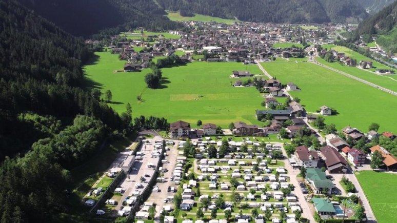 Il Camping Mayrhofen, © Camping Mayrhofen