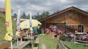 La malga Brentenjochalm, © Tirol Werbung/Valentin Margreiter