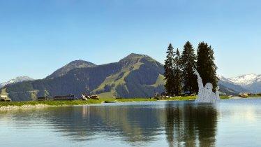 Il lago Filzalmsee Brixen im Thale, © Bergbahnen Brixen im Thale