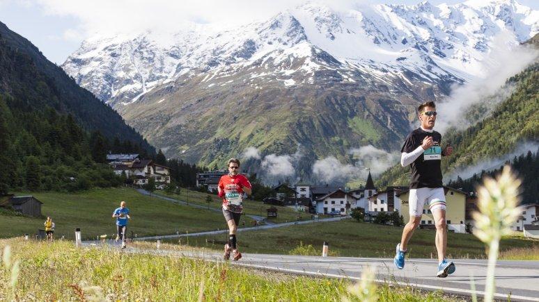 Maratona sul ghiacciao, Pitztal, © Sportfotografen/Lukas Ennemoser