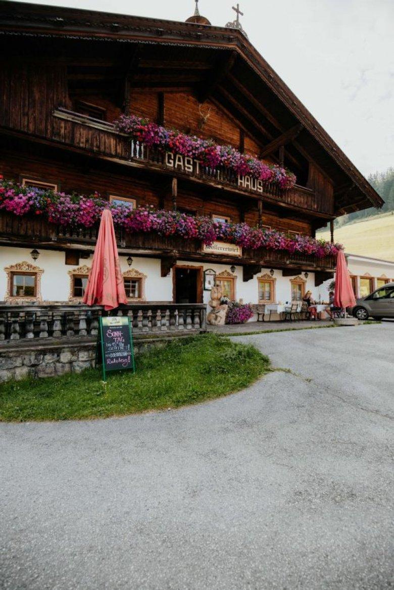 L'albergo-ristorante Sollerwirt a Thierbach.