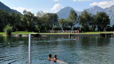 Lago balneabile di Schlitters, © Erste Ferienregion im Zillertal