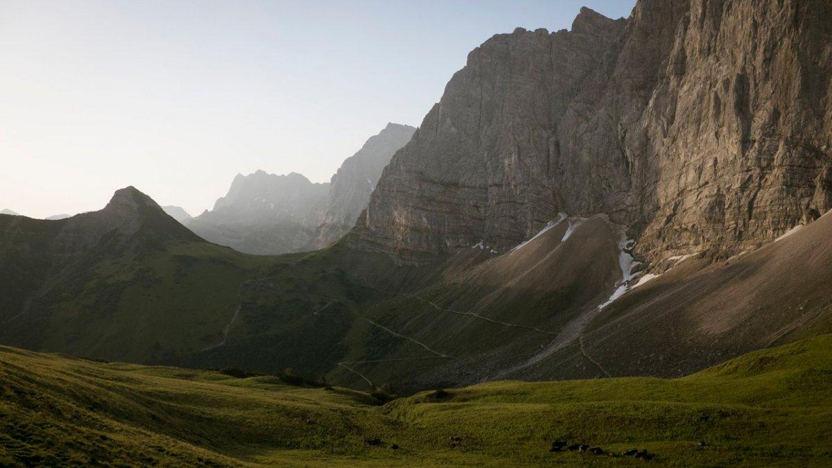 Sentiero dell'aquila: percorso attraverso il Karwendel, © Tirol Werbung