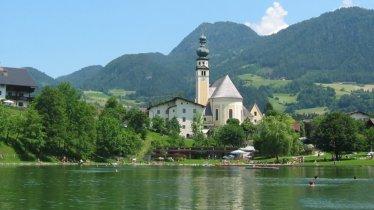 Lago balneabile Reither See, © Alpbachtal Seenland Tourismus