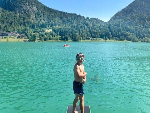 Il lago Thiersee a Kufstein