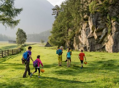 Andare ad arrampicare insieme alla famiglia. , © Tirol Werbung, Hans Herbig