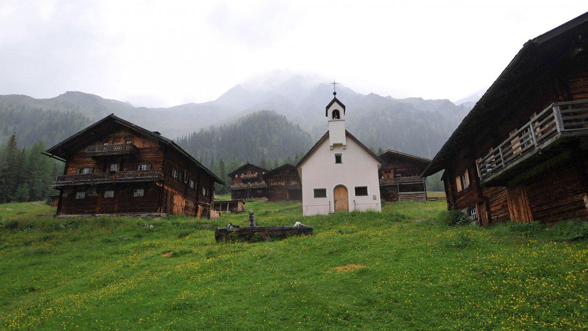 La malga Oberstaller Alm, © Tirol Werbung/Aichner Bernhard
