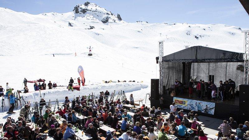Musica e divertimento durante lo Snowdown a Hochfügen, © Daniel Zangerl