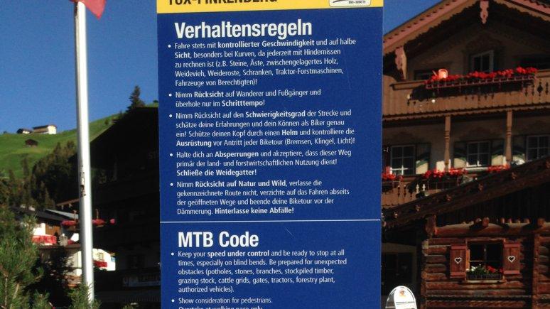 Norme di comportamento con la mountainbike, © Silberregion Karwendel