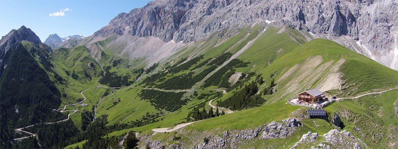 La malga Rotmoosalm nella valle Gaistal, © Rotmoosalm