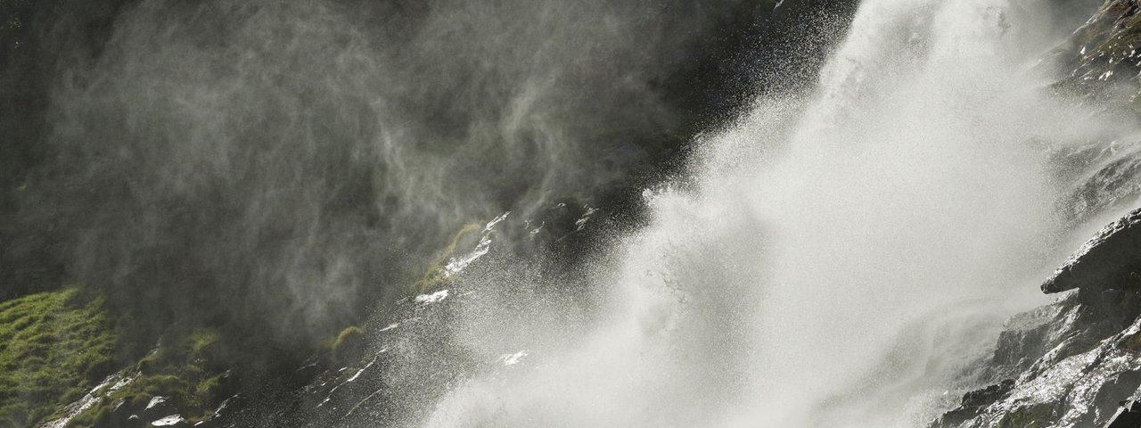 Cascata Grawa nella valle Stubaital, © Tirol Werbung/Frank Bauer
