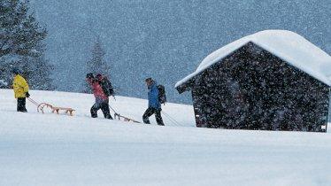 Slittino in Tirolo, © Tirol Werbung / Bernd Ritschel