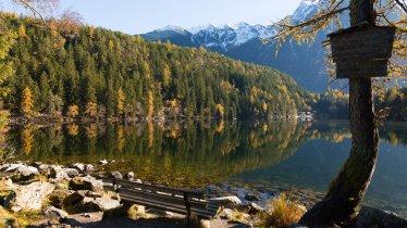 il lago Piburger See a Oetz, © Tirol Werbung/Ines Mayerl