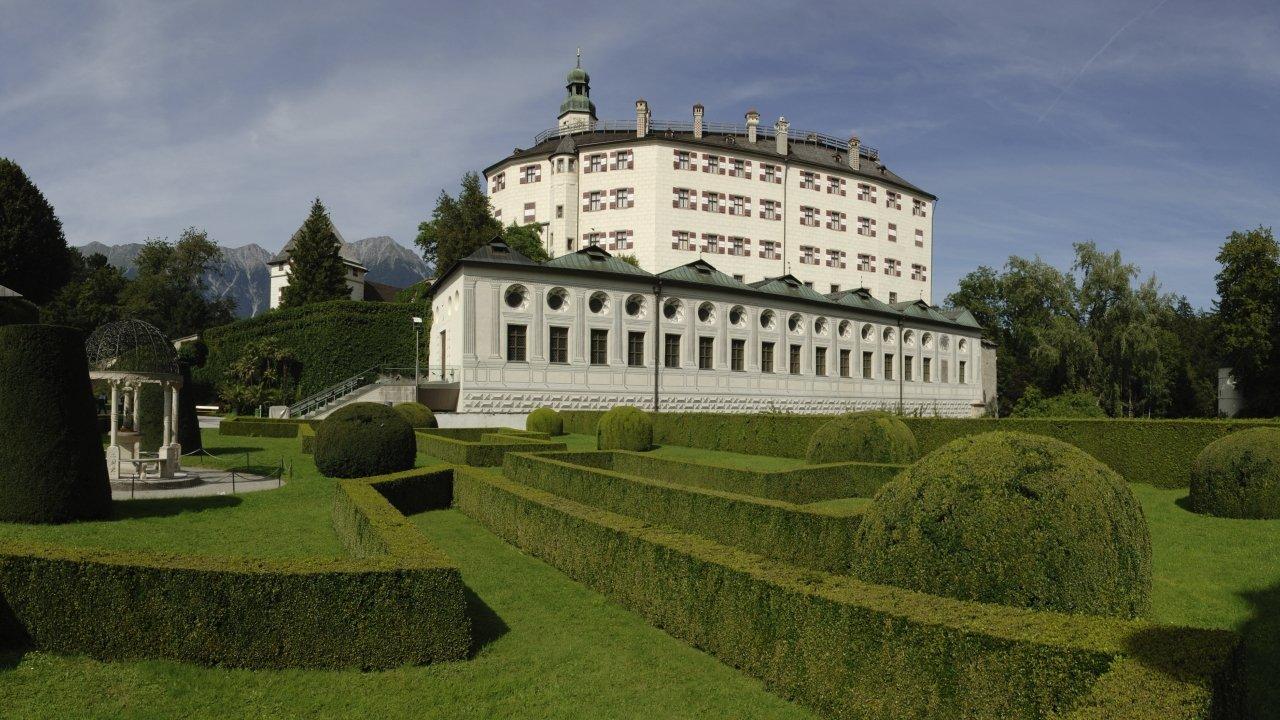 Castello di Ambras a Innsbruck, © Tirol Werbung/Aichner Bernhard