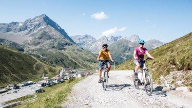 Mountain biking vicino a Kühtai, © TVB Innsbruck/Daniel Zangerl