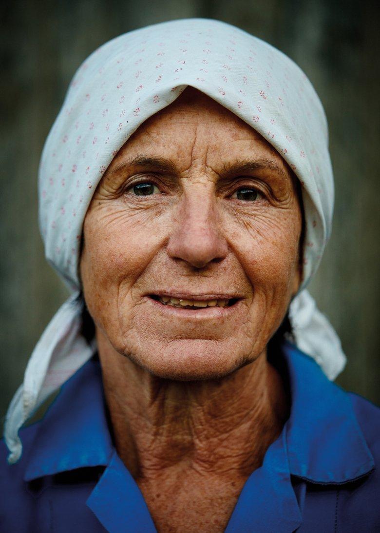 MARIA GAPP Un'infanzia trascorsa in fattoria dove il gioco e il lavoro si intersecavano senza mai stancarla.