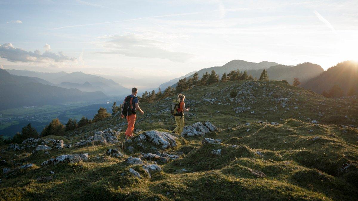 Sentiero dell'aquila: tappa nelle Alpi di Brandenberg, © Tirol Werbung