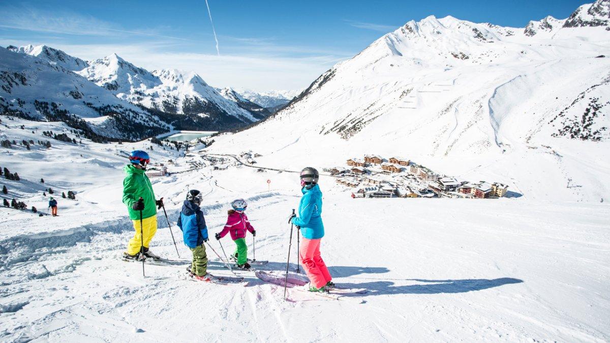 Sciare in famiglia a Kühtai, © Eye5/Daniel Zangerl