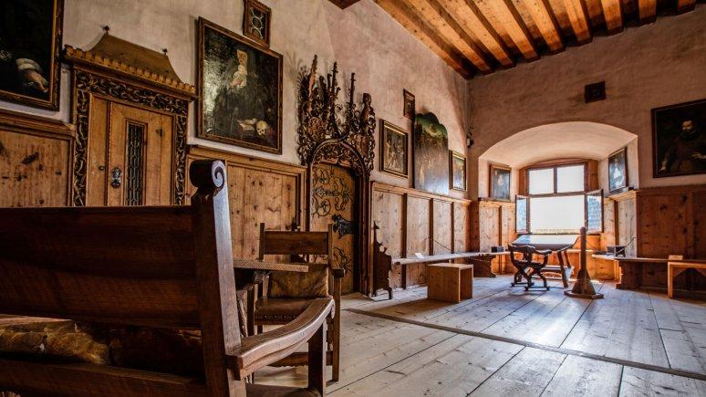 La stube dei Fugger, © Schloss Tratzberg