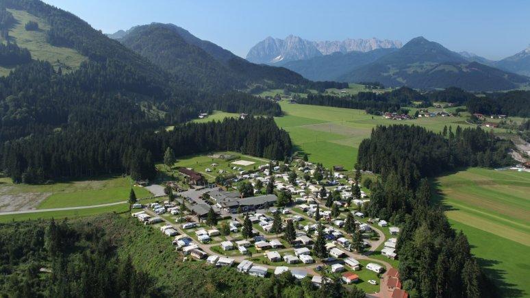 Euro-Camp Wilder Kaiser a Kössen, © Eurocamp Tirol